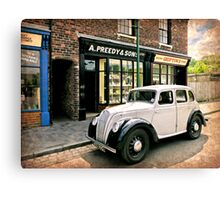 Bygone Years Canvas Print