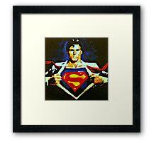 Becoming Superman Framed Print