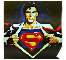 Becoming Superman Poster