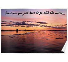 Ocean Landscape Poster