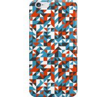 Triangle mosaic pattern iPhone Case/Skin