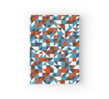 Triangle mosaic pattern Hardcover Journal