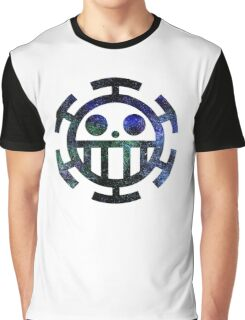 °MANGA° Trafalgar Law Logo Space Graphic T-Shirt