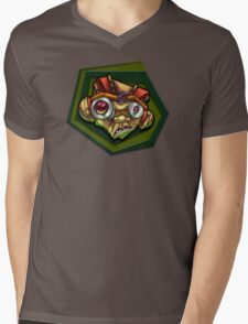 Brain Rot Razputin Mens V-Neck T-Shirt