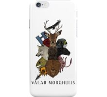 Valar Morghulis (Game of Thrones) iPhone Case/Skin