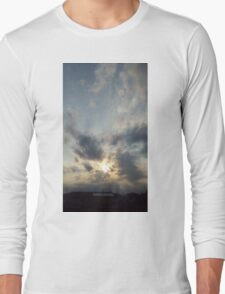 Exploding sun Long Sleeve T-Shirt