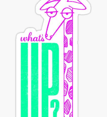 What's Up? Sticker