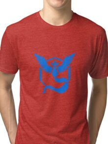 TEAM BLUE POKEMON GO Tri-blend T-Shirt