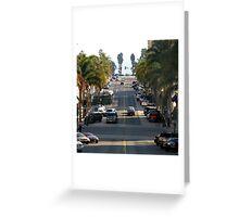 California Street Greeting Card