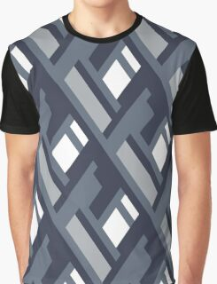 Bold pattern with architectural motifs Graphic T-Shirt
