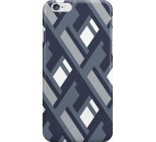 Bold pattern with architectural motifs iPhone Case/Skin