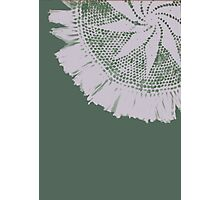 Green Lace Photographic Print