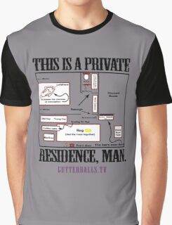 Private Residence - Black Graphic T-Shirt