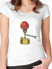 vintage portable camp stove Women's Fitted Scoop T-Shirt