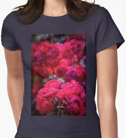 Rose 134 Womens Fitted T-Shirt