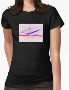 Balancing Womens Fitted T-Shirt