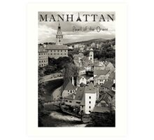 Manhattan - Pearl of the Orient Art Print