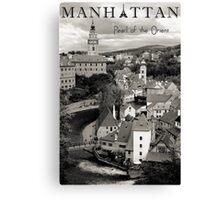 Manhattan - Pearl of the Orient Canvas Print