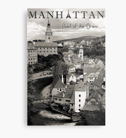 Manhattan - Pearl of the Orient Metal Print
