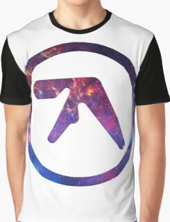 Aphex Twin Space Logo  Graphic T-Shirt