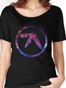 Aphex Twin Space Logo  Women's Relaxed Fit T-Shirt