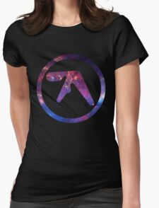 Aphex Twin Space Logo  Womens Fitted T-Shirt