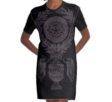 PAX ROMANA Graphic T-Shirt Dress