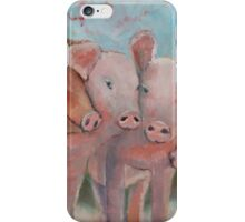 Piggy Huddle iPhone Case/Skin