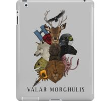 Valar Morghulis (Game of Thrones) iPad Case/Skin