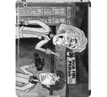 Back To WHOS Future iPad Case/Skin