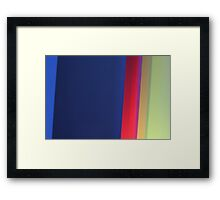 Moving Light into The Wardrobe Framed Print