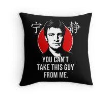 Captain Reynolds Throw Pillow