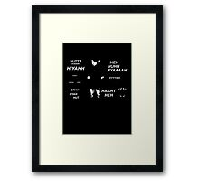 Link Quotes Framed Print