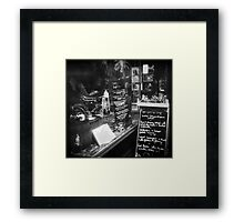 The Bicycle Shop Framed Print