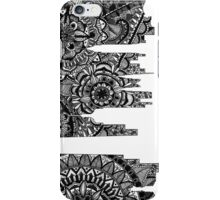 Zentangle City New York [Black and White] iPhone Case/Skin