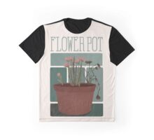 Flower Pot Graphic T-Shirt
