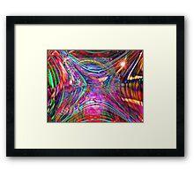 Four Layer Blend: Shimmer Framed Print