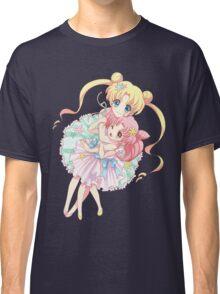 Sailor Moon-Sailor Moon and Sailor Chibi Moon Classic T-Shirt