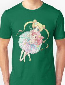 Sailor Moon-Sailor Moon and Sailor Chibi Moon Unisex T-Shirt
