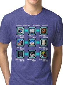 Megaman Multiverse Tri-blend T-Shirt