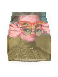 TRIFOCALS Mini Skirt