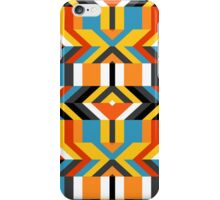 Colorful op art pattern iPhone Case/Skin