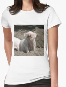 Piglet20150902 Womens Fitted T-Shirt