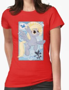 Winter Wrap Up Womens Fitted T-Shirt