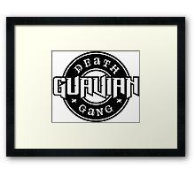 Guavian Death Gang Framed Print