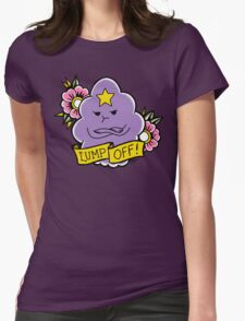 Lump Off! Womens Fitted T-Shirt