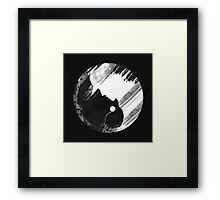 When Two Worlds Collide Framed Print