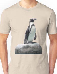 Penguin on a Rock Unisex T-Shirt