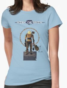 Risk of Rain commando! Womens Fitted T-Shirt
