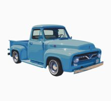 Classic 1955 F100 Ford Pickup Truck Kids Clothes
